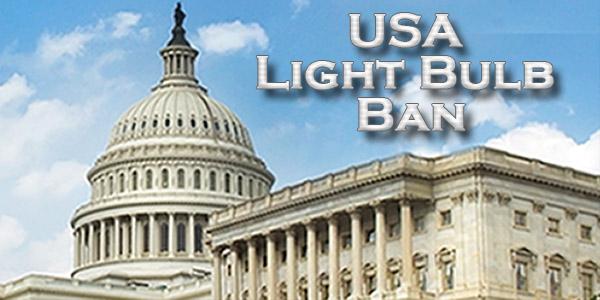 USA Light Bulb Ban & Light Bulb Efficiency Standards